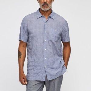 Bonobos Beach Short Sleeve Shirt in Blue